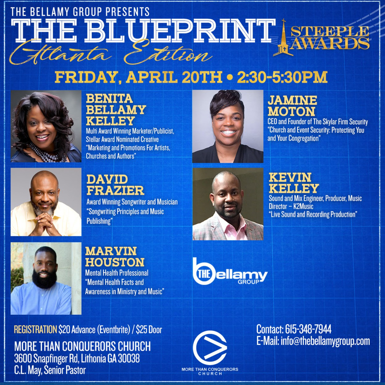 The blueprint music business and faith based marketing seminar held the blueprint music business and faith based marketing seminar held during the steeple awards friday malvernweather Images