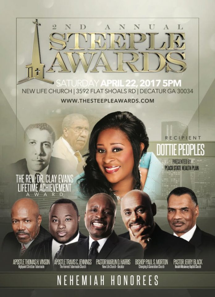 THE 2ND ANNUAL STEEPLE AWARDS CELEBRATES GOSPEL ARTISTS & MINISTRY LEADERS, SAT APR 22, 2018 IN ATLANTA, GA | @LuvConfidential