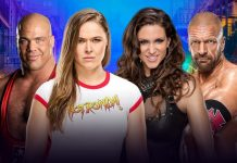 Ronda Rousey wins her first match at WrestleMania