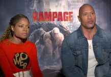 The Rock & Naomi Harris On Famous Rampages
