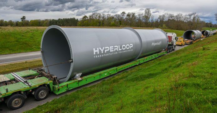 World's third hyperloop test track is now under construction